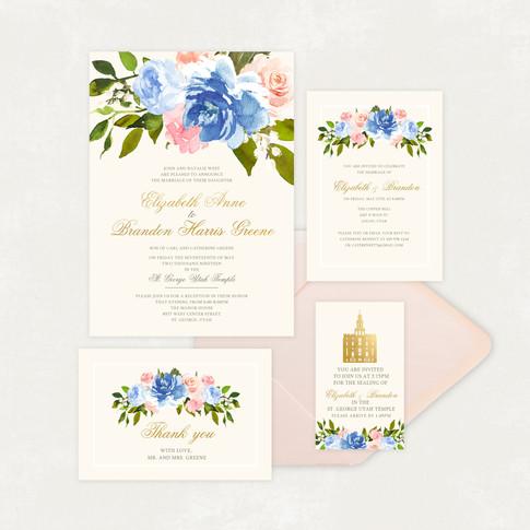 Wedding Invitation #WI566