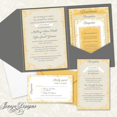 Pocket Invitation - Item# PI020