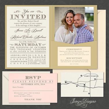 Pocket Invitation - Item# PI026