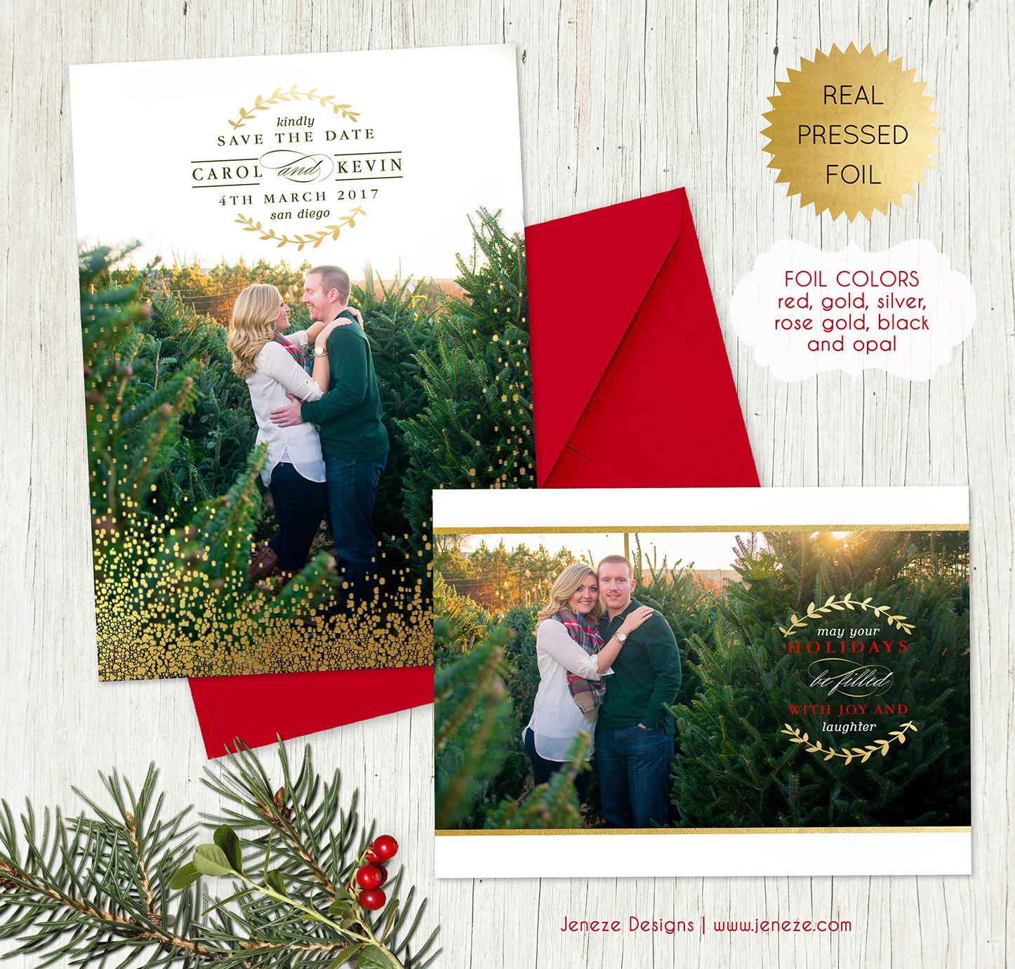 Save the Date - Item# SD114 | Jeneze Designs Custom Wedding Invitations