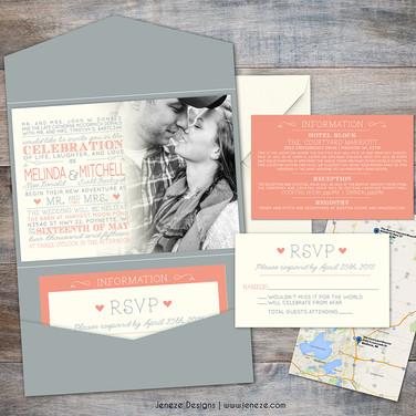 Pocket Invitation - Item# PI035