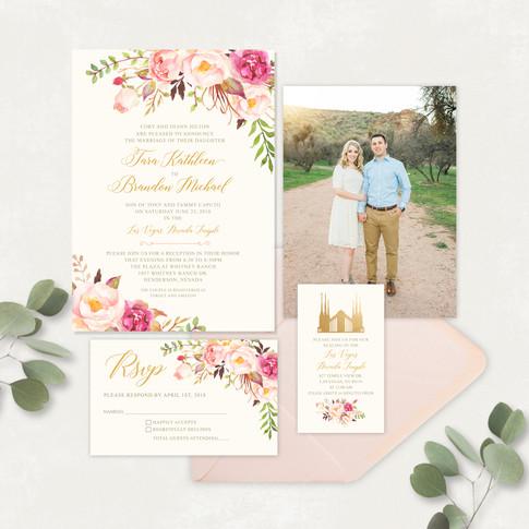 Wedding Invitation #WI553
