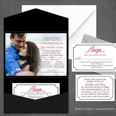 Pocket Invitation - Item# PI034
