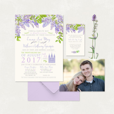 Wedding Invitation #WI335