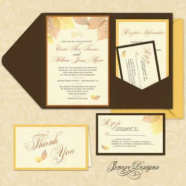 Pocket Invitation - Item# PI014