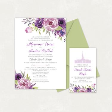 Wedding Invitation #WI325
