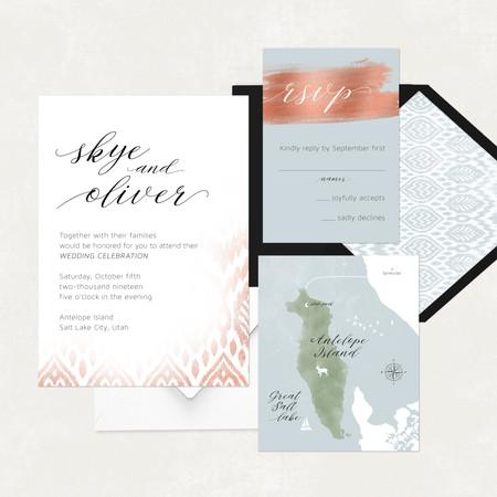 Wedding Invitation #WI564
