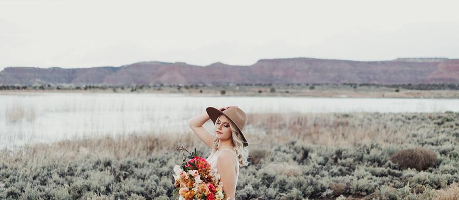 Beautiful Desert Bridals