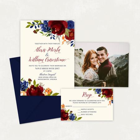 Wedding Invitation #WI346