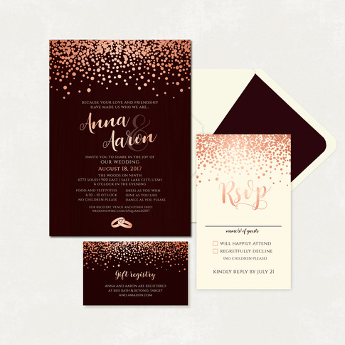 Wedding Invitation #WI334