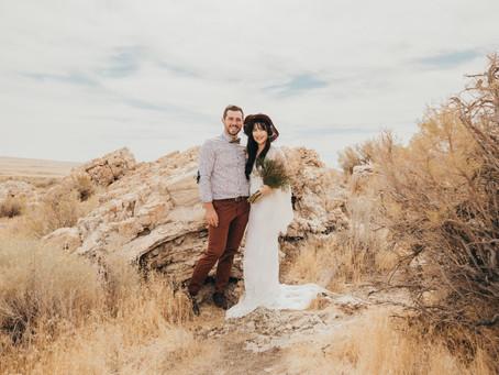 Antelope Island Boho Themed Wedding Inspiration