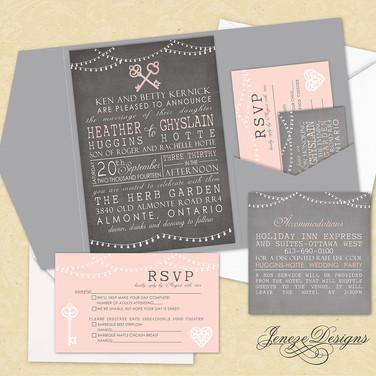 Pocket Invitation - Item# PI025