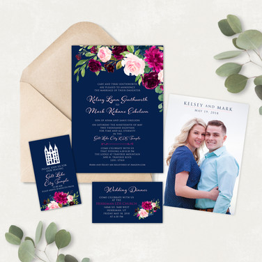 Wedding Invitation #WI558