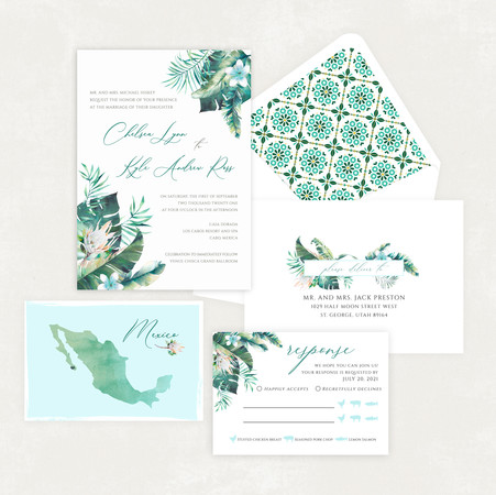 Wedding Invitation #WI575