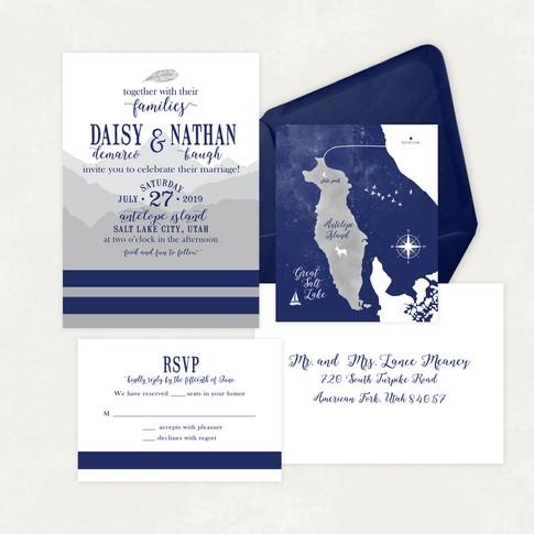 Wedding Invitation #WI569