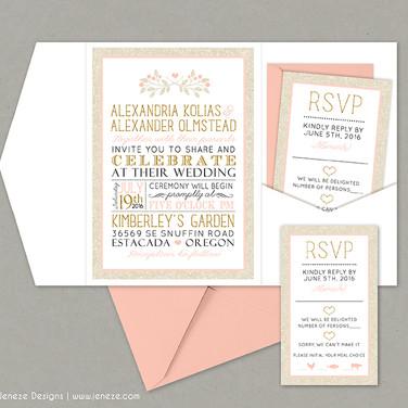 Pocket Invitation - Item# PI031
