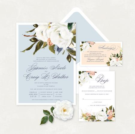 Wedding Invitation #WI342