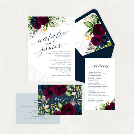 Wedding Invitation #WI572