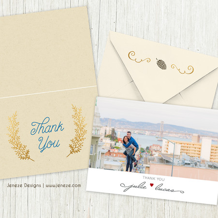 Thank you card - Item# TY052