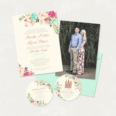 Wedding Invitation #WI314