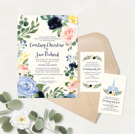 Wedding Invitation #WI561