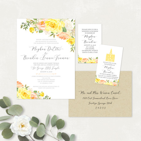 Wedding Invitation #WI562