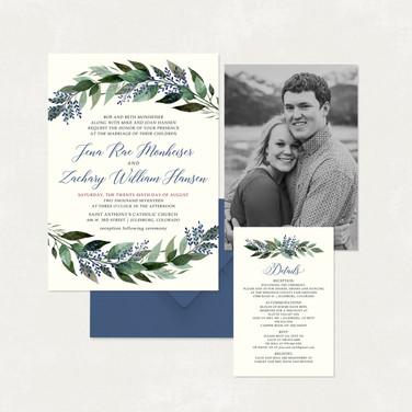 Wedding Invitation #WI337