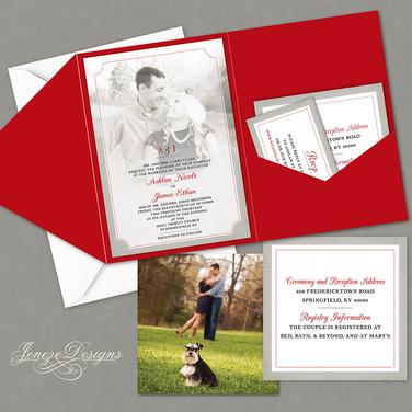 Pocket Invitation - Item# PI027