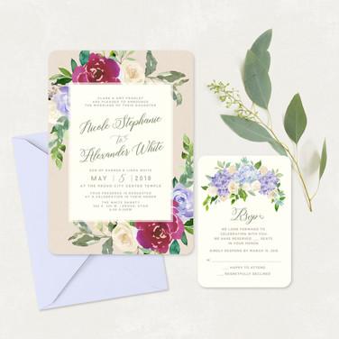 Wedding Invitation #WI343