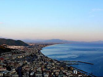 Vista Panoramica dal Castello Arechi Salerno