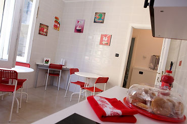 Sala Breakfast del B&B City Central Salerno