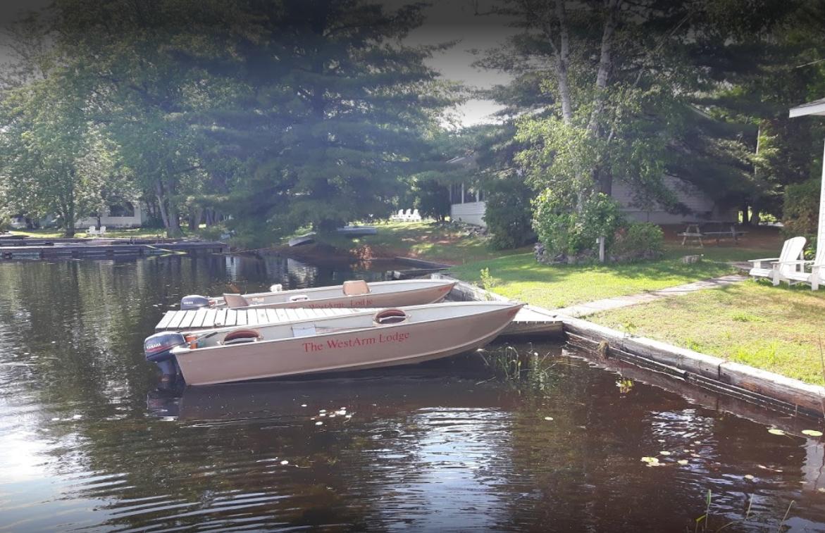 West Arm Lodge Fishing Boats