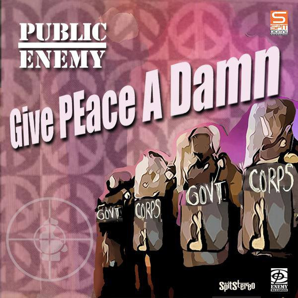 Public Enemy - Give Peace A Damn (Artwork by ASKEM)