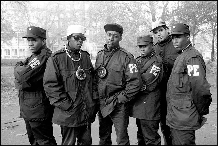 Public Enemy, 1987 in Hyde Park, London (Getty Images)