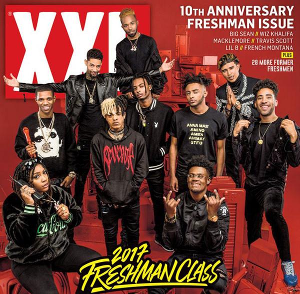 """2017's XXL """"Freshman"""" Class"""