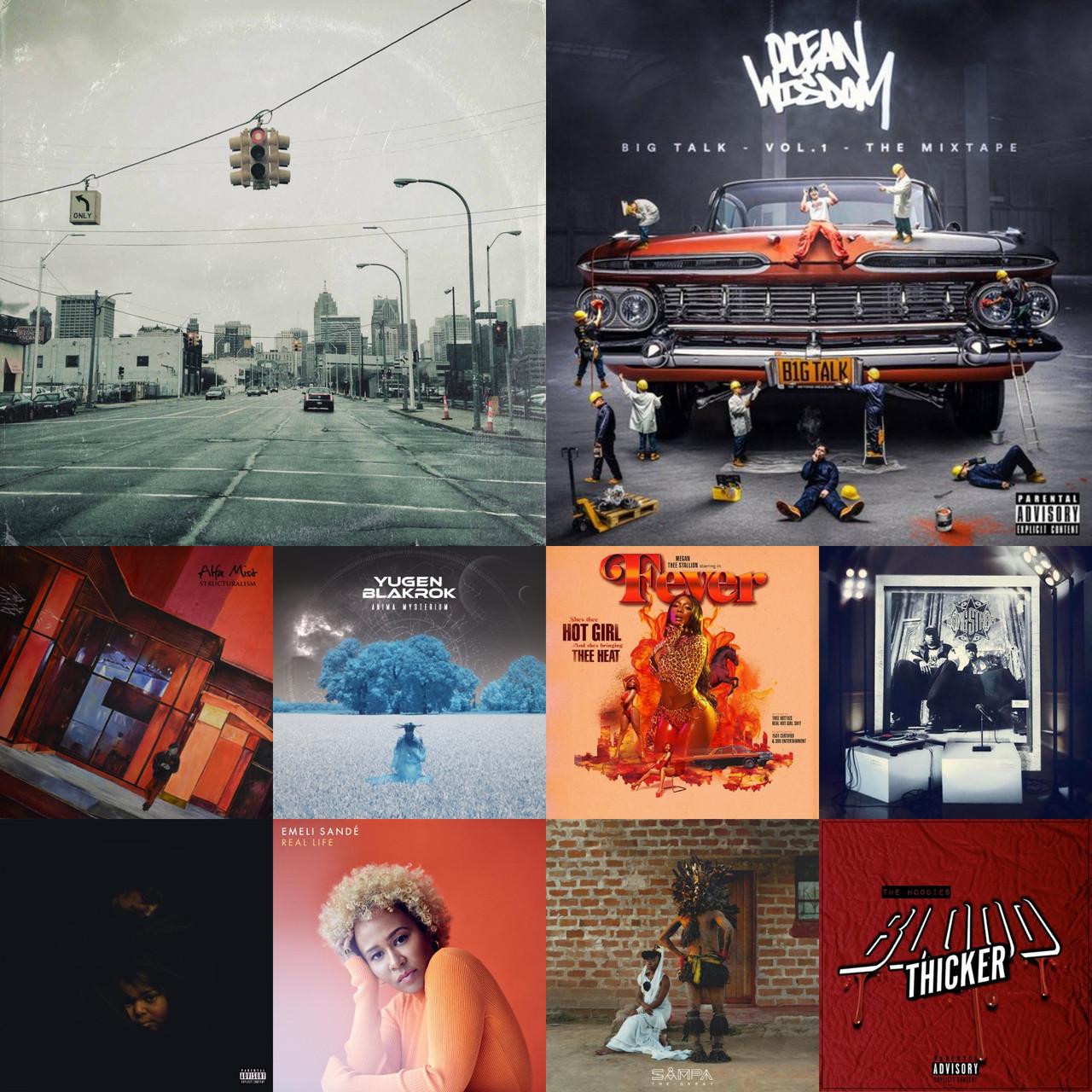 '19 Top 20 Albums (20-11)