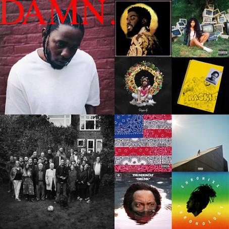 #5E Top 10: Albums Of 2017