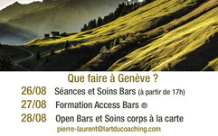 Access Consciousness - Formation Bars - Pierre Laurent - Genève