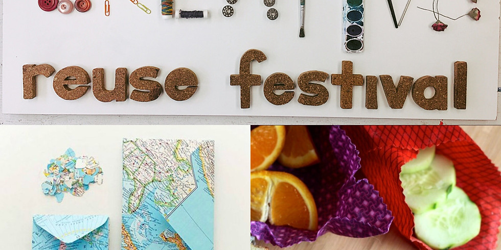 Creative Reuse Festival: Wraps + Maps