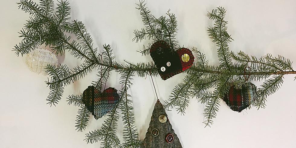 Merrymaking Crafternoon: Felt Ornaments