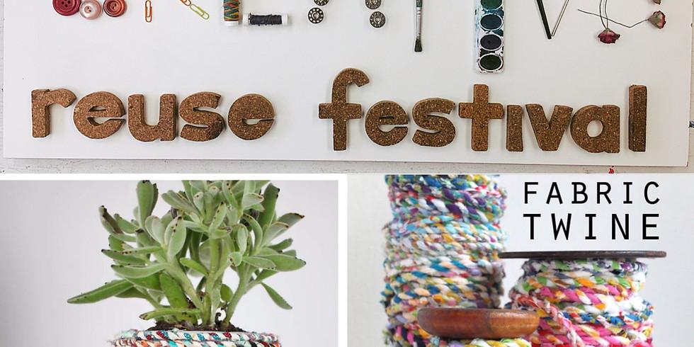 Creative Reuse Festival: Fabric Twine