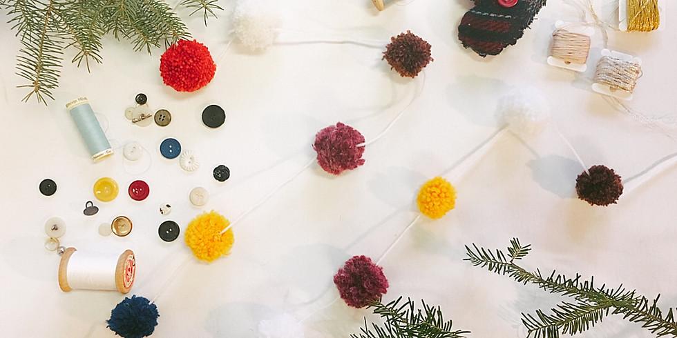 Merrymaking Crafternoon: Pompom Garland