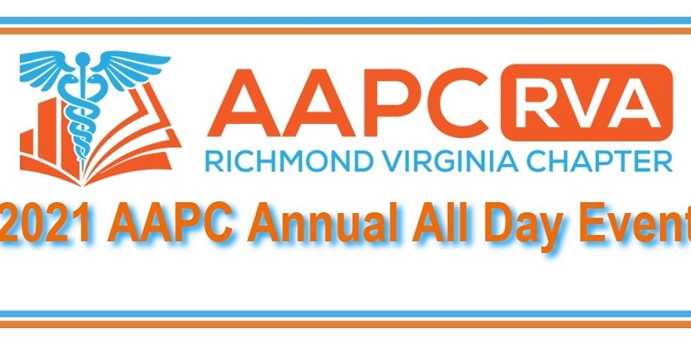 AAPC RVA 2021 All Day Event