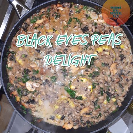 Black eyed peas kale delight