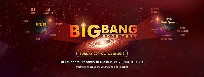 Big Bang Edge Test-Sample Papers