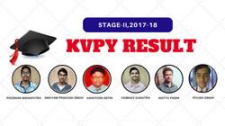 KVPY Satge-II Result