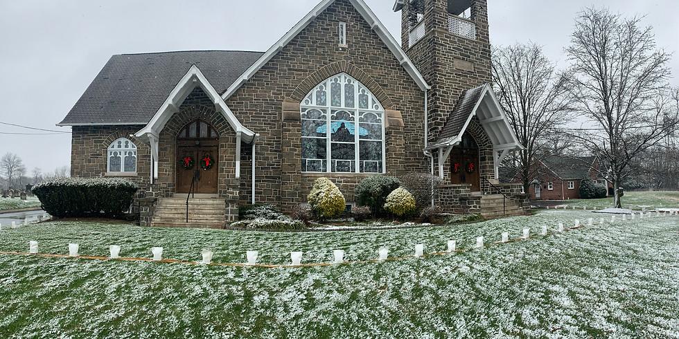 Christmas Eve Outdoor Worship Service