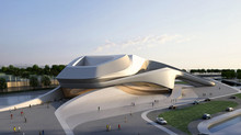 Theater stoel Grand Theâtre de Rabat (Zaha Hadid Architects)