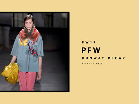 PFW Fall/Winter 2019: Ready To Wear