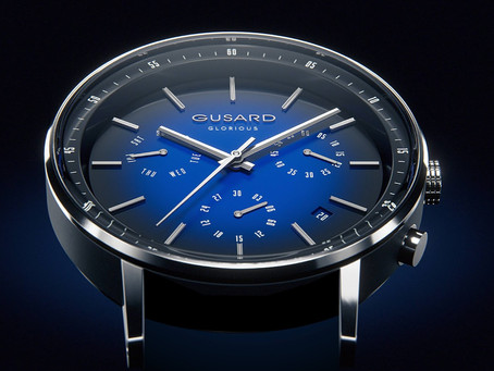 Gusard Watches, with Empowering Engraved Quotes, Launch on Kickstarter